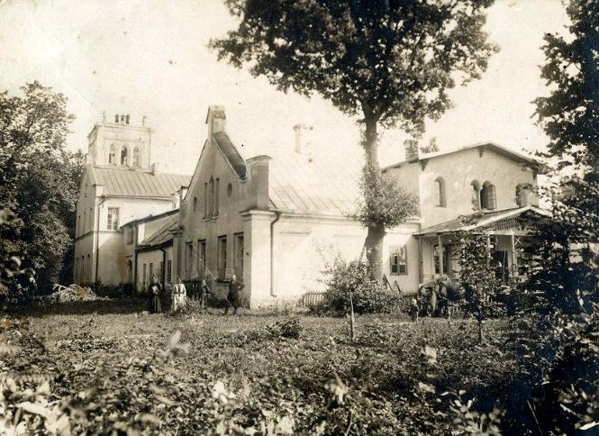 Svėdasų dvaras XX a. pradžioje. Juodviršių šeimos archyvo nuotr.