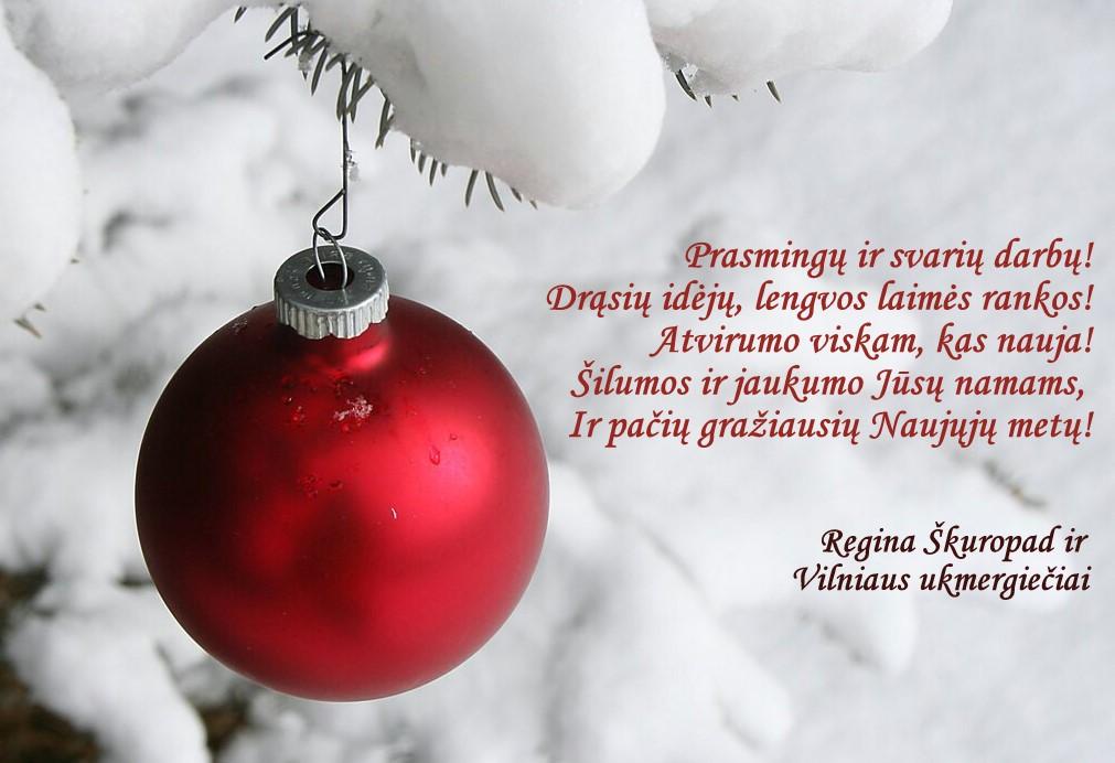 Sveikina Vilniaus ukmergiečiai