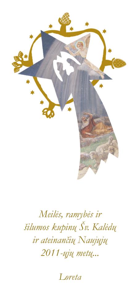 Dailininkės Loretos Uzdraitės šventiškoji žinia