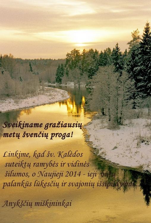 Anykščių miškų urėdijos sveikinimas.