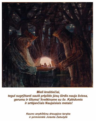 Sveikina Jolanta Zabulytė ir Kauno anykštėnai.
