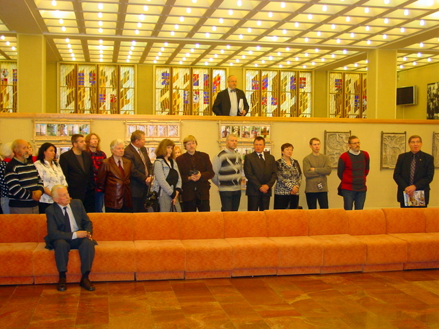 PArodos atidarymas Seimo parodų galerijoje