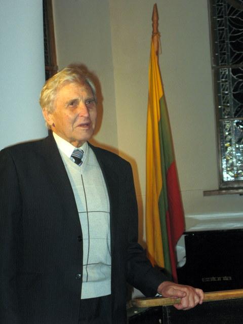 A+A Algirdas Eduardas Čižas. T. Kontrimavičiaus nuotrauka.