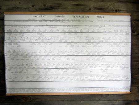 Vaižganto giminės genealoginis medis