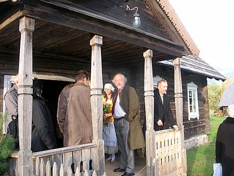 Jubiliejaus šventė draugų apsuptyje - Striukų etnografinėje sodyboje Niūronyse.