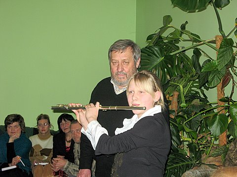 A. Ražinskas su anūke