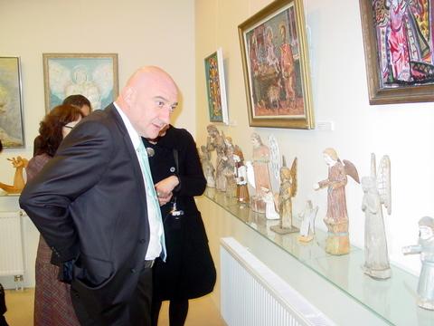Viešnagė Angelų muziejuje.