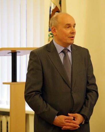 Vilniaus anykštėnų sambūrio pirmininkas Alfredas Puodžiūnas.