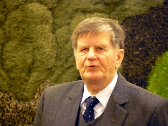 Pasaulio anykštėnų bendrijos pirmininkas prof. Antanas Tyla.