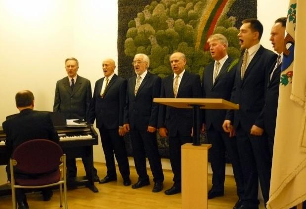 Dainingųjų svėdasiškių koncertas.