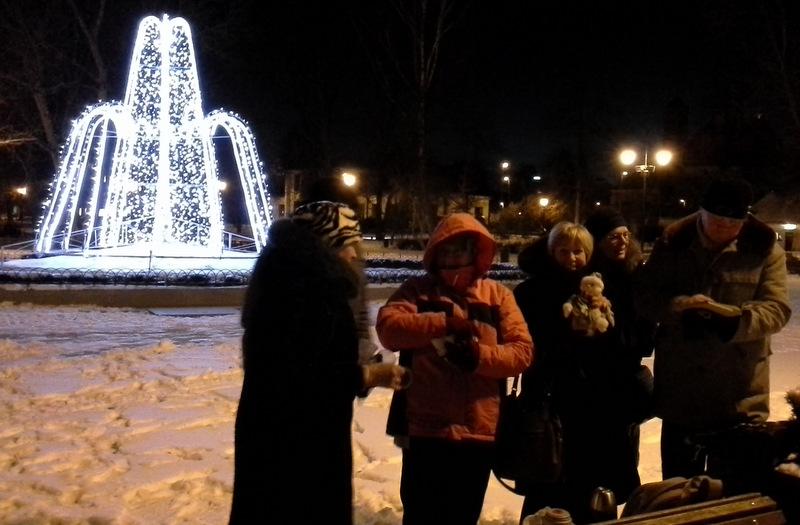 Šalto vakaro penas dvasiai ir kūnui Bernardinų sode. Jolitos Šedauskienės nuotrauka.
