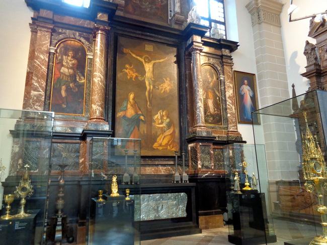 Didysis bažnyčios altorius.