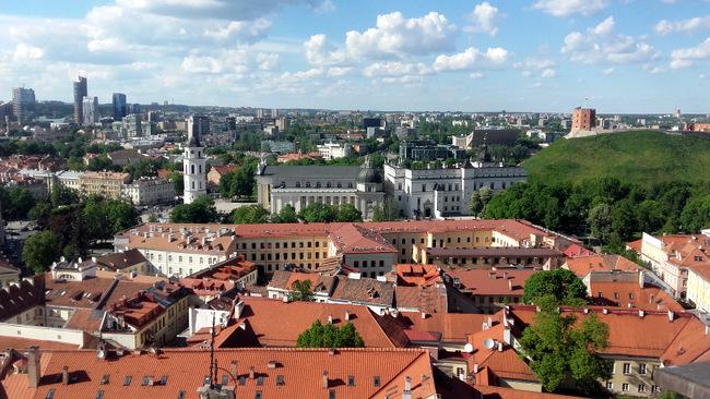 Vilniaus panorama.