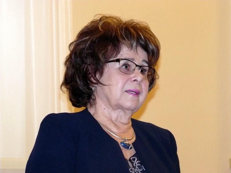 Išgyvenimus tremtyje mena Sigita Smetonaitė-Petrauskienė. Laimučio Regelskio nuotrauka.