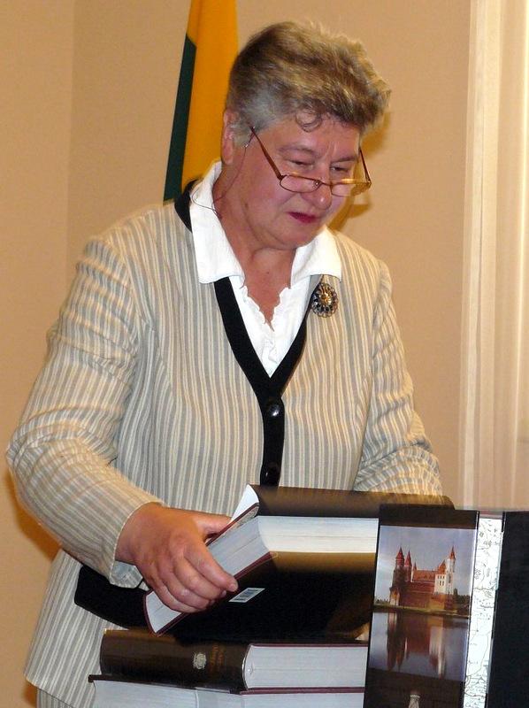 Signatarė Birutė Valionytė.