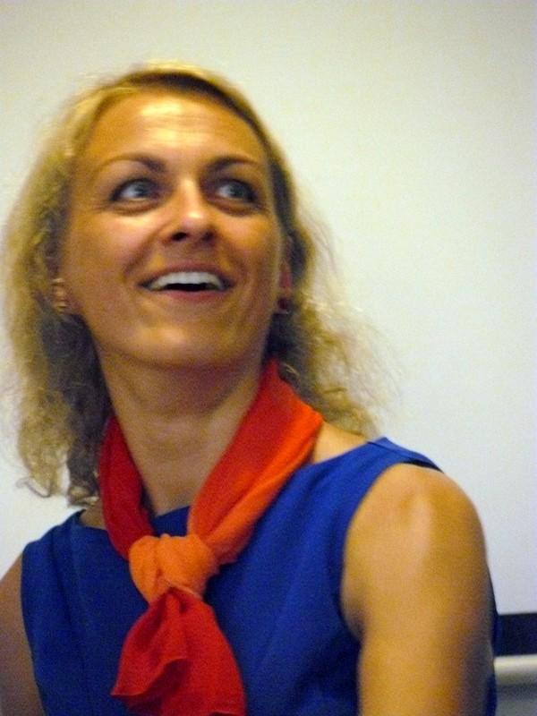 Rašytoja dr. J. Žąsinaitė. Laimučio Regelskio nuotrauka.
