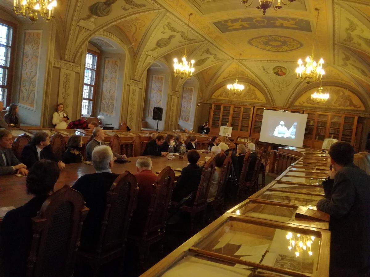 Kultūros istorijos popietė Vilniaus universiteto bibliotekoje.