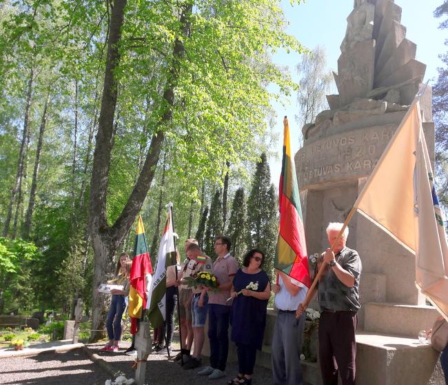Vilniaus anykštėnai pagarbos ekspedicijoje Latvijoje. I. Randakevičienės nuotrauka.