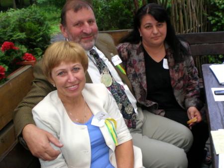 Gegužinėje - J. Baublienė, J. Šimėnas ir R. Virbalienė.