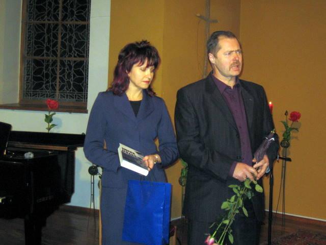 Nominantai Violeta ir Ričardas Sargūnai