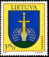 Pašto ženklas, skirtas Kavarskui.