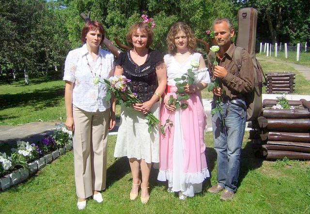 Atminimo rytmečio Traupyje rengėjai: Ramunė Musteikienė, Aldona Širvinskienė, Irma Deguckienė ir Vidmantas Plėta.